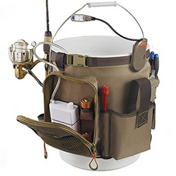 Wild River WL3506 Tackle Tek Rigger Lighted Bucket Organizer