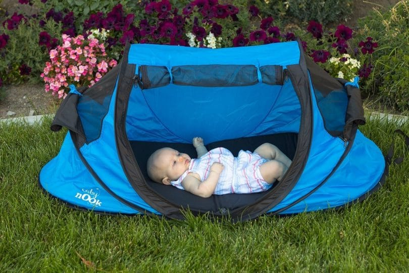 Baby bed and tent