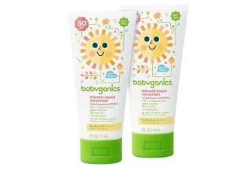 Babyganics Mineral Sunscreen Lotion