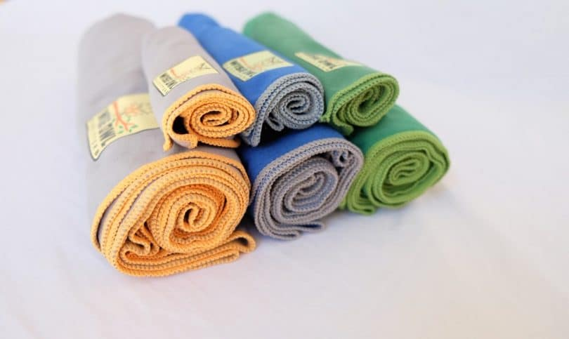 Backpacking towels