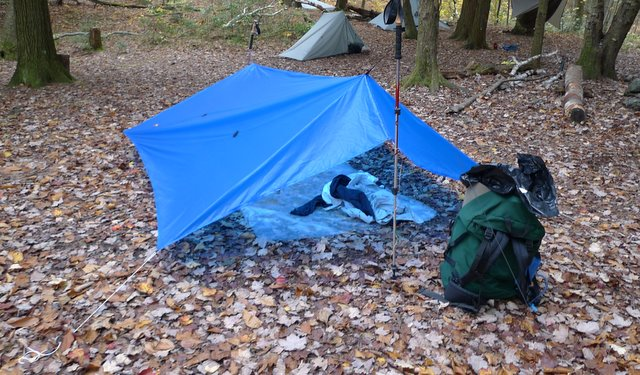 C&ing tarp & Tent Footprint VS Tarp: Which is a Better Choice