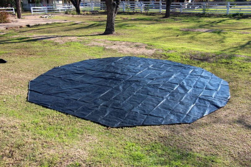 how to use a tent footprint