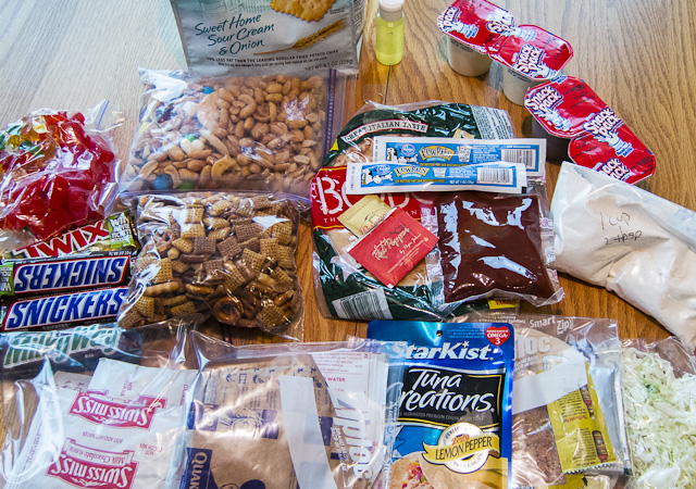 Food for backpacking trips