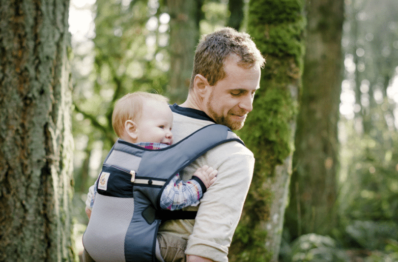 Infant carrier for hiking