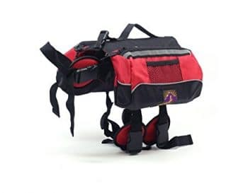 Kyjen Outward Hound Dog Backpack Saddlebag