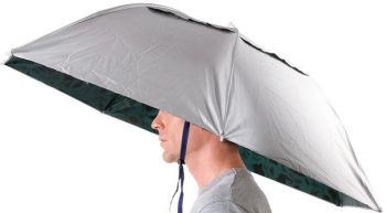 Luwint 36 Elastic Folding Umbrella Hat