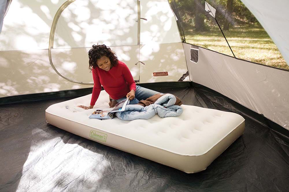 most comfortable camping bed
