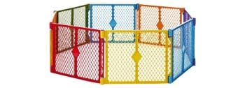 Superyard Colorplay 8 Panel Playard