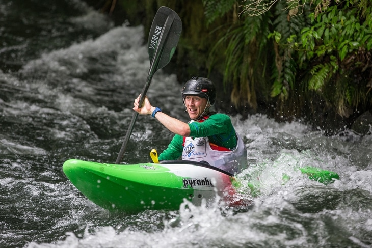 The freestyle kayak