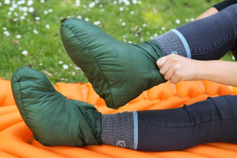 Womens camping booties