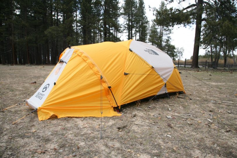 Yellow tent & Tent Footprint VS Tarp: Which is a Better Choice