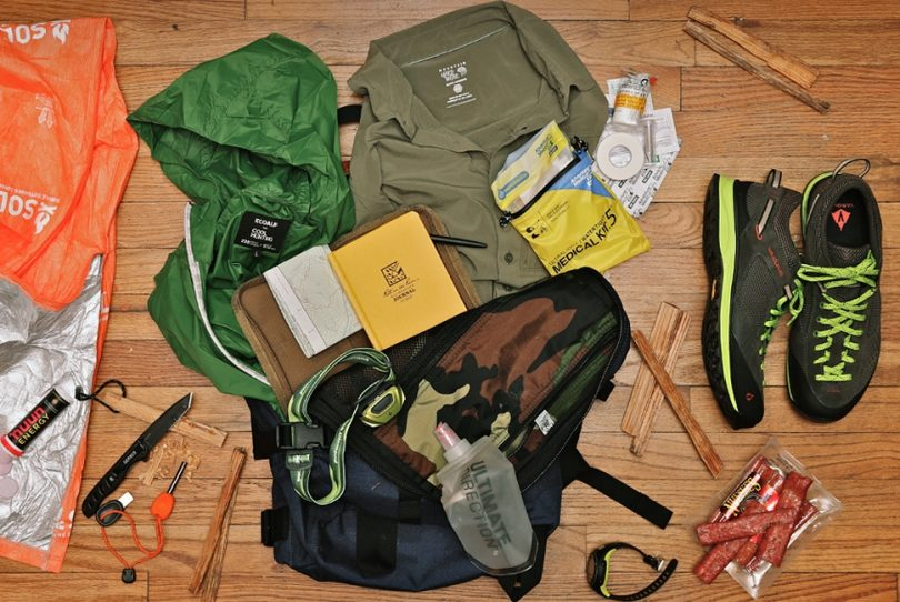 Pack essentials gear
