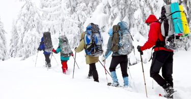 Tips for hiking in the winter