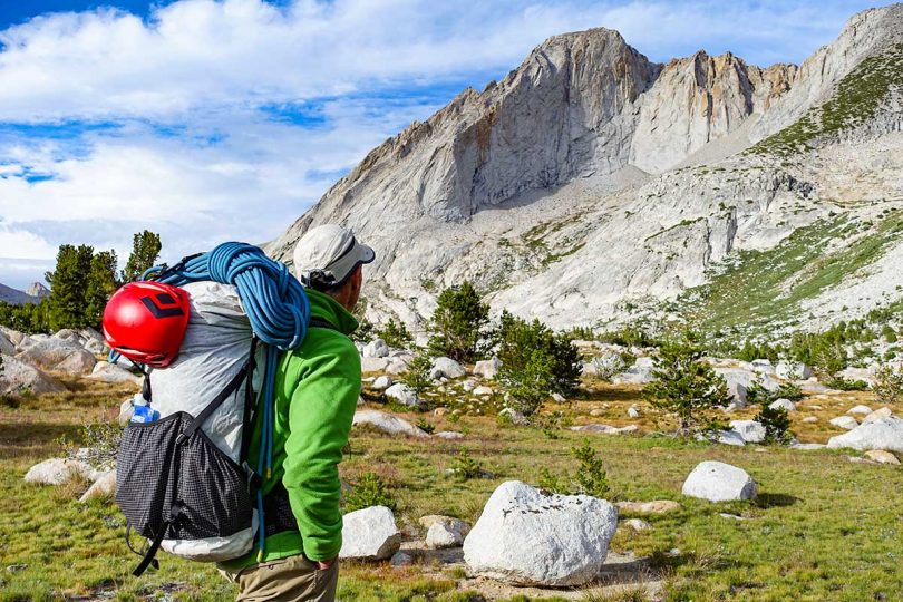 Ultralight hiking gear