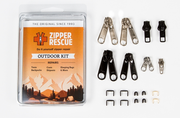 Zipper rescue kit, outdoor