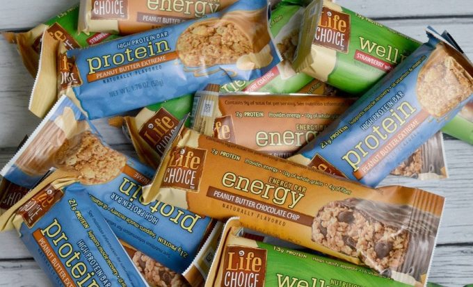 Energy bars for outdoor activities