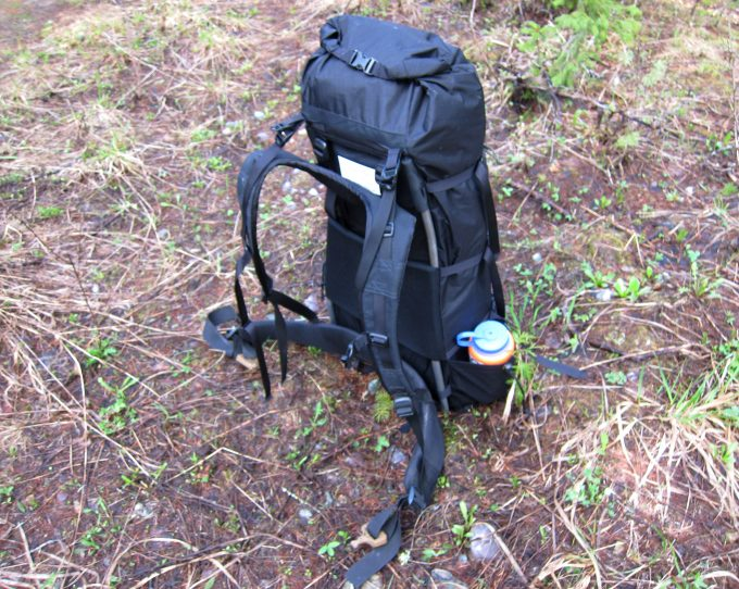 Frame backpack