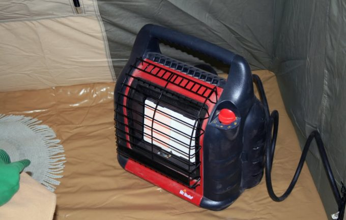 Inside of a tent & Best Tent Heater: Reviews on Top Picks and Buying Guide