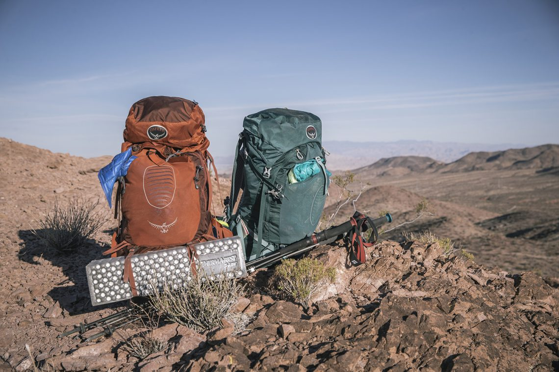 Some Advantages of Internal Frame Hiking Backpacks