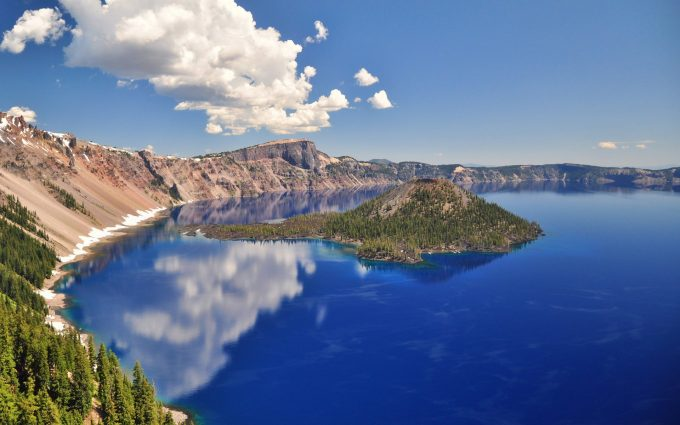 Mount Scott Trail, Crater Lake National Park, Oregon