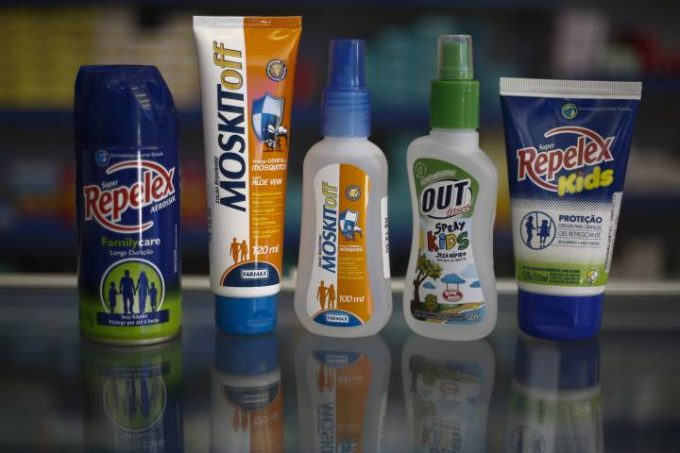 Sunscreen and bug repellent for kids