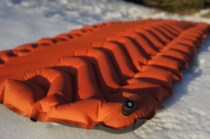 Winter sleeping pad