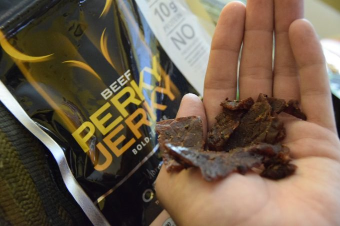 beef jerky for hiking
