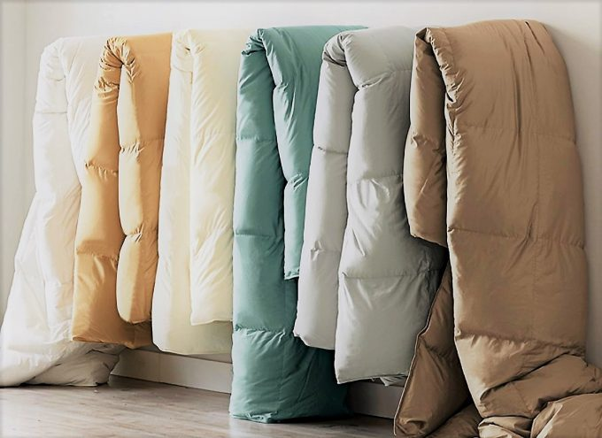 different size comforters