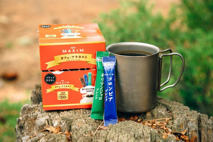 instant beverages for hiking