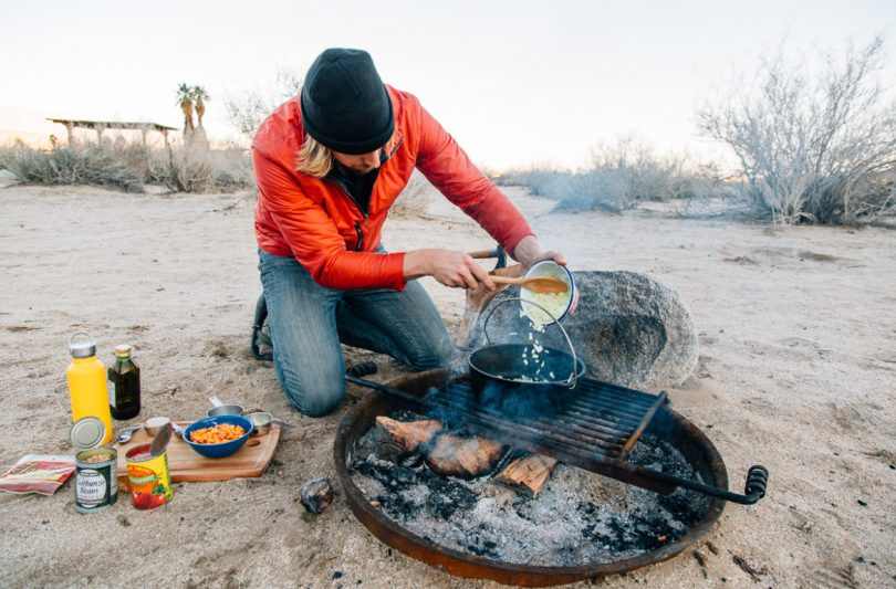 Camp stove recipes