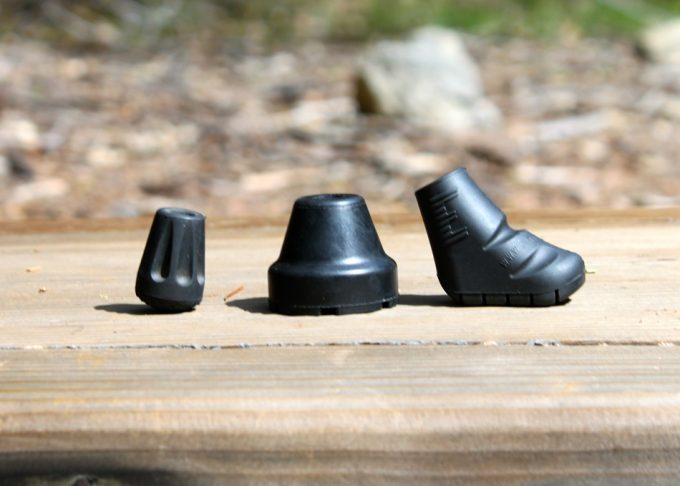 Rubber caps for walking stick