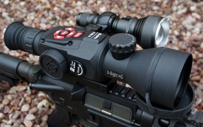 infrared iluminators gun scope