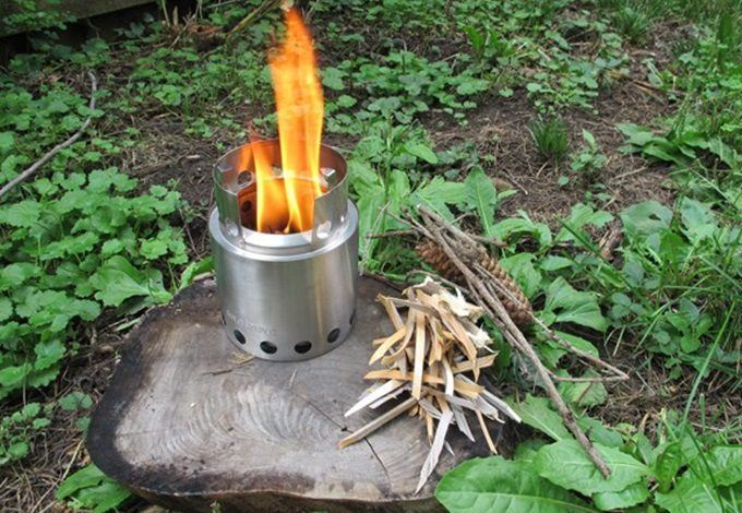 Solo stove lite cooking system