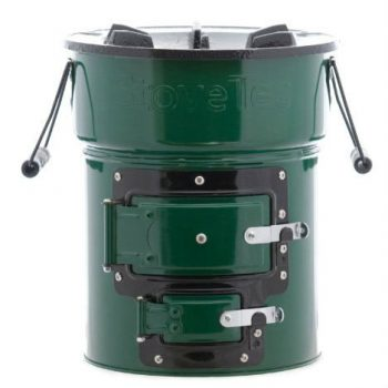 Stovetec Big Foot Two-Door Stove