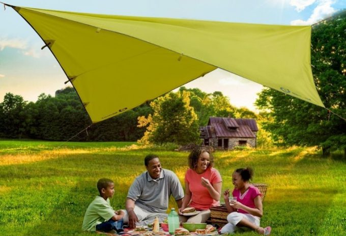 The Sunshade Tarp Tent