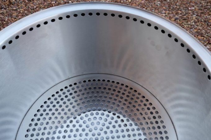 The vent holes