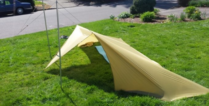 Wind Shed Tarp Tent