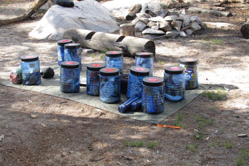 bear canisters