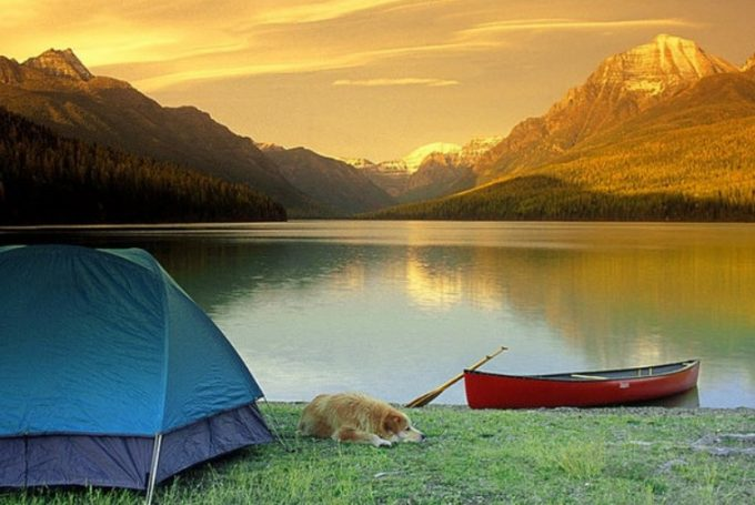camping near water