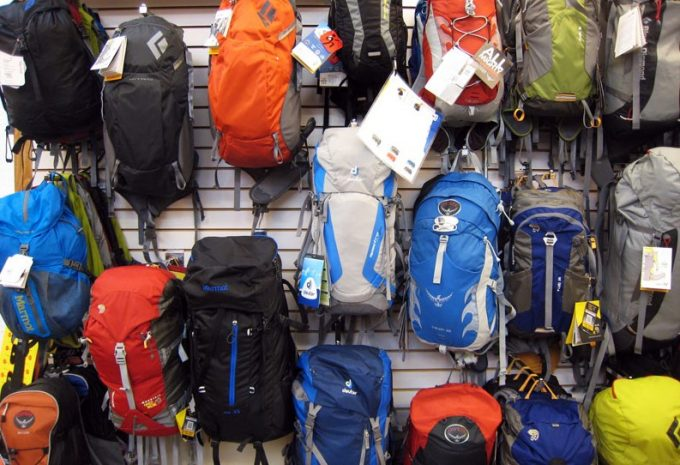 different kinds of backpacks