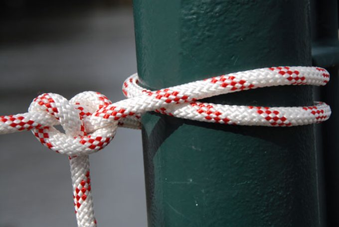 practising essential knots