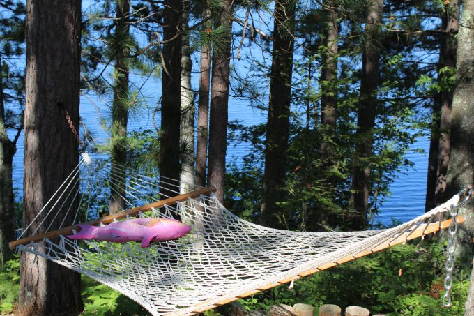 hammock near the sea