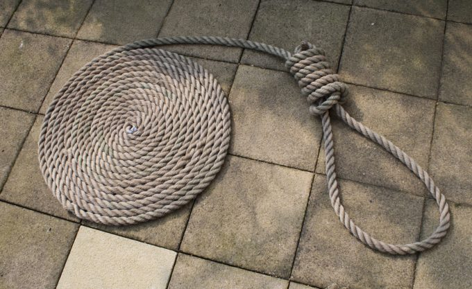 hang-man rope