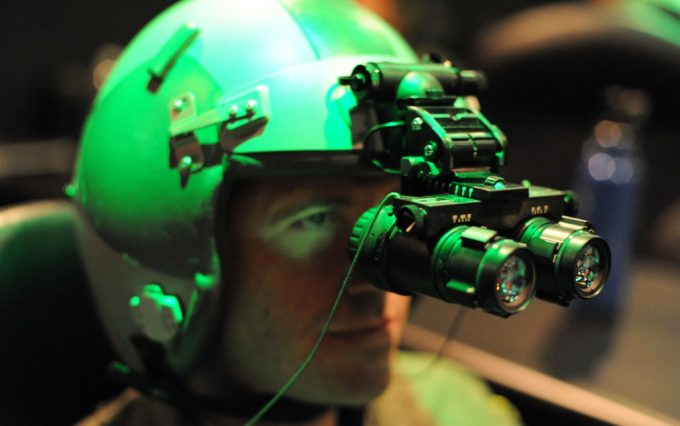 looking through night vision goggles.JPG