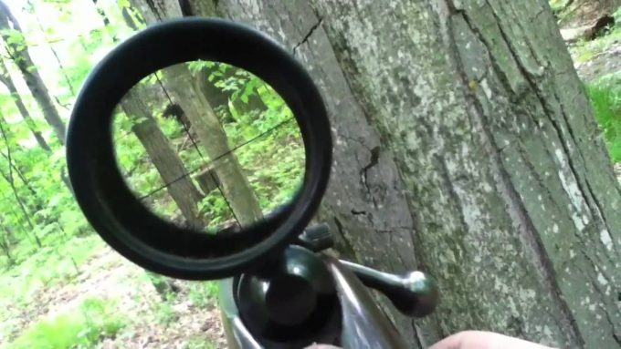 hunting with scope