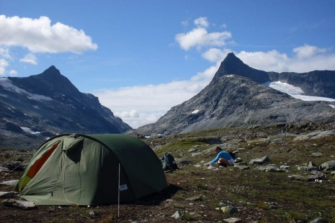 polyester tents are water based urethane solutions