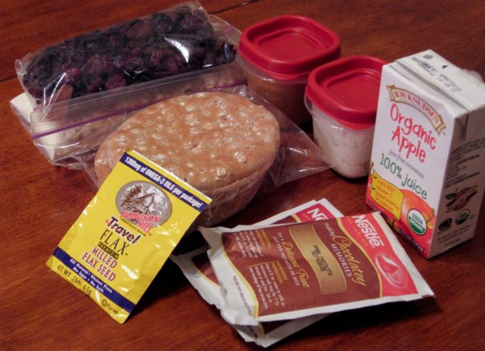 ready backpacking food