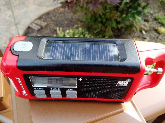 solar weather radio