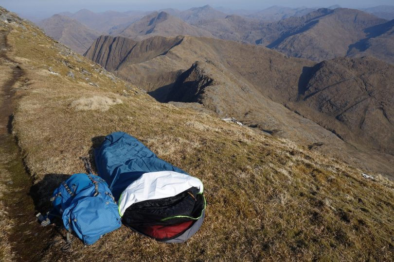 synthetic sleeping bag featured