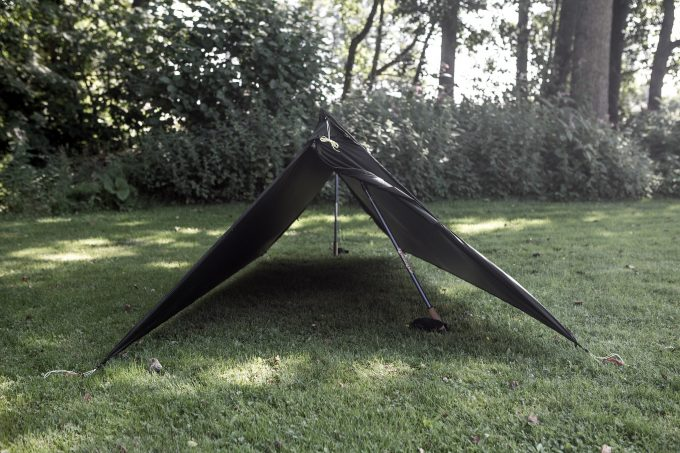 Read on to know more about how you can build a tarp tent with just a lightweight polyethylene tarp a couple of poles or trees a few guy lines ... & DIY Tarp Tent: Easy Step-by-Step DIY Guideliness
